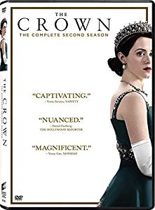 The Crown Second season DVD