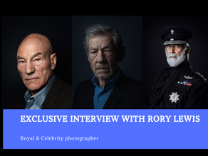 Interview with royal & celebrity photographer Rory Lewis