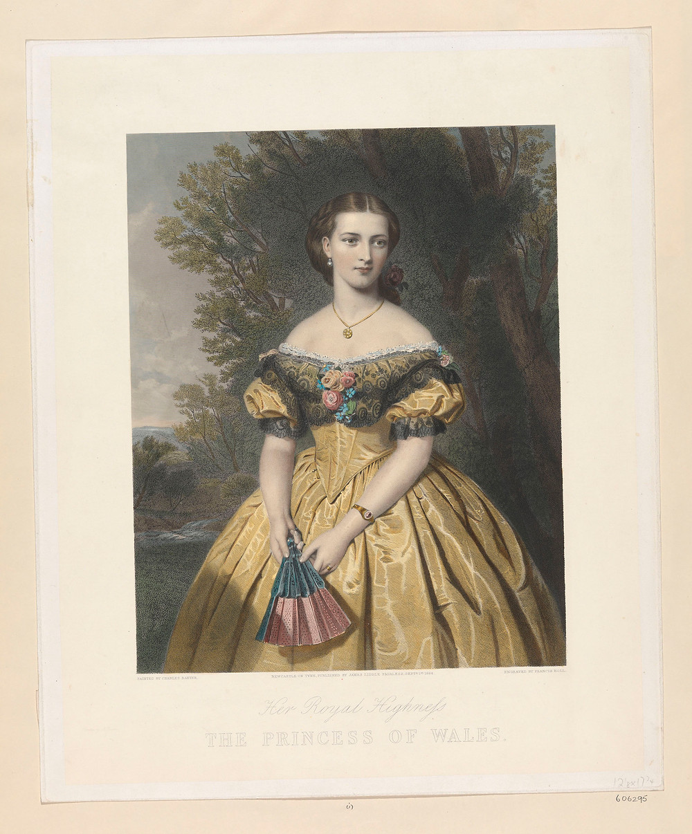 Her Royal Highness THE PRINCESS OF WALES. 1864, Royal Collection Trust/© Her Majesty Queen Elizabeth II 2018