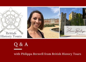 Q & A with Philippa Brewell from British History Tours