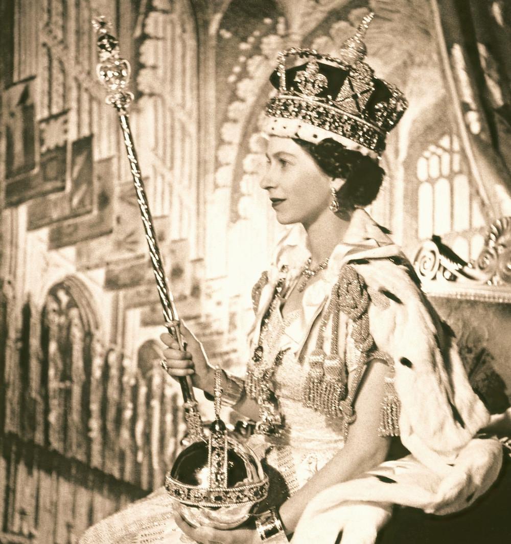 Queen Elizabeth II coronation portrait, 1953