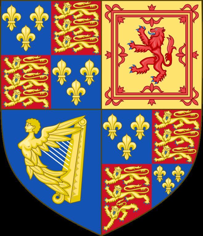 James VI & I shield of arms