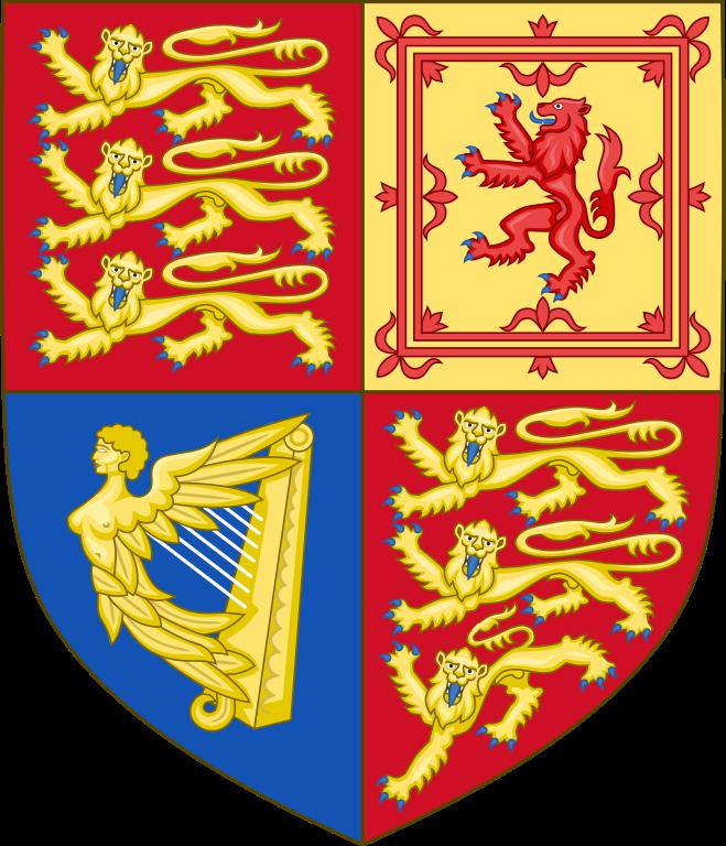Queen Victoria shield of arms