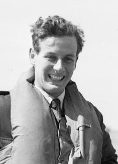 Peter Townsend: source -photograph By Daventry B J (Mr), Royal Air Force official photographer [Public domain], via Wikimedia Commons