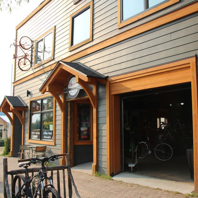 Shon's Bike Shop, Nakusp, BC
