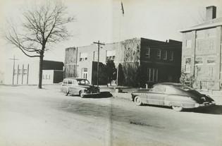 Front of Janesville School