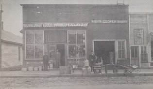 C.W. Taylor Hardware. (East Side of Main St. in the days of the $.5 cigar