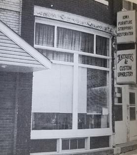 Iowa Furniture Resoration, 1986.  304 Main Street