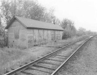 Old Raildroad Building. Illinois Railroad Company. (Currently FS AgVantage)