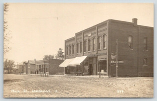 Main Street, Early Days. (Looking South)