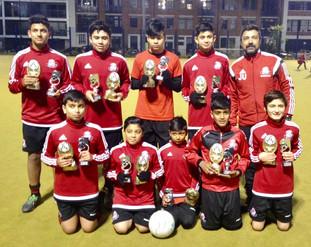 Reward for the junior teams