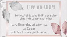 Girls Zoom activities launch