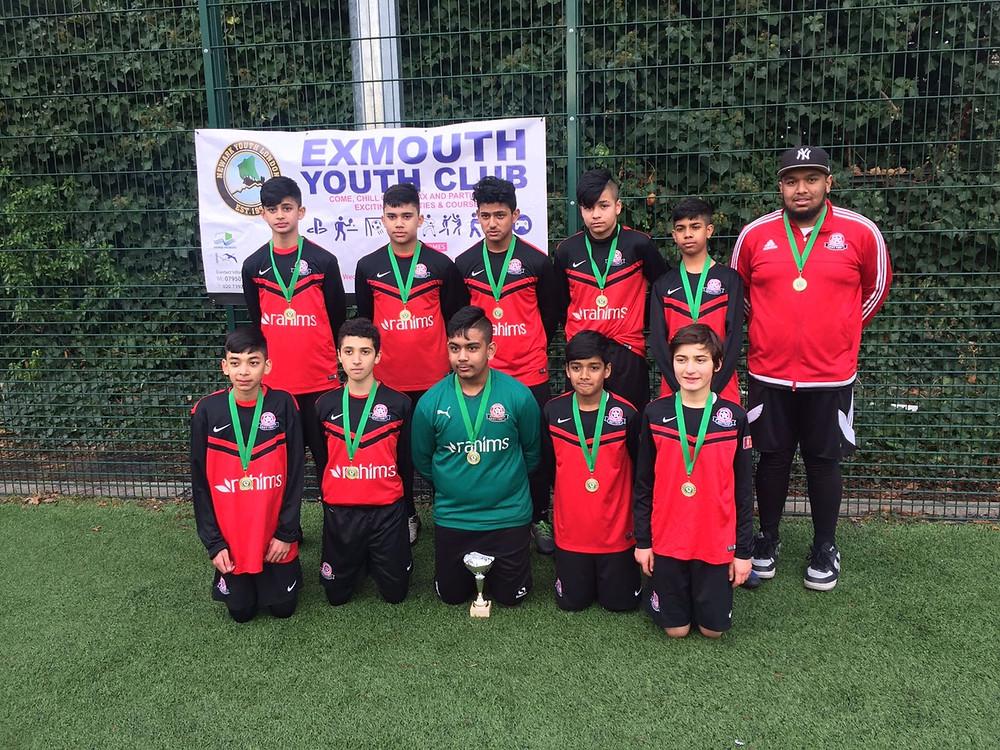 U14 winners Vallance FC