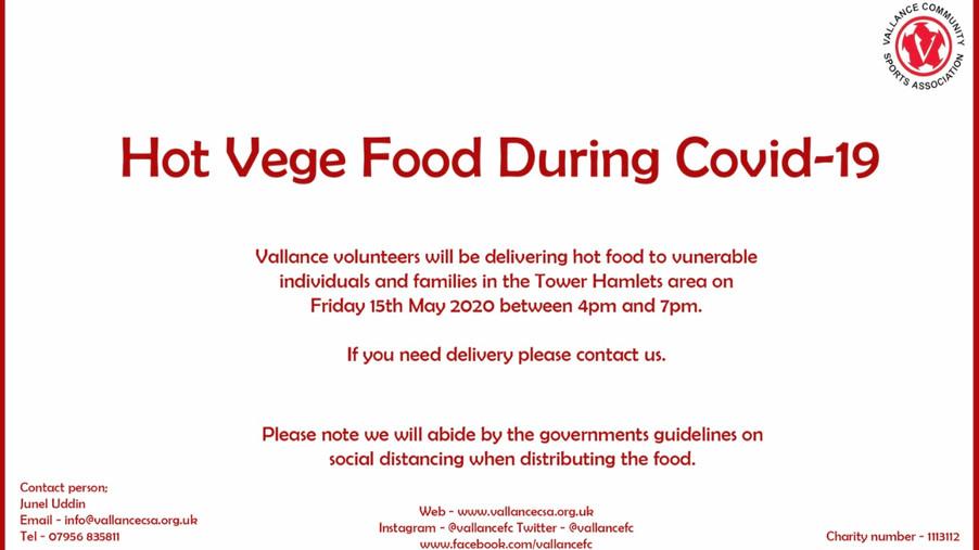 Free Hot Vege food