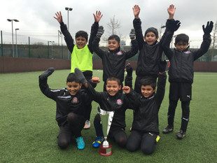 Triumph for runners up