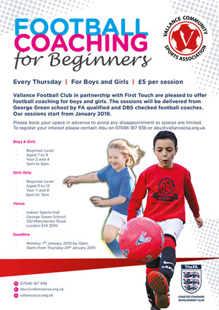 Football Coaching for Beginners