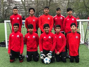 U14 take part in tournament