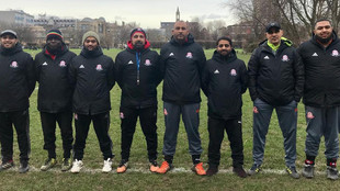 Winter coats for coaches