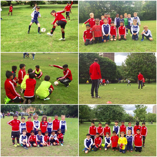 Friendlies with Wapping Warriors