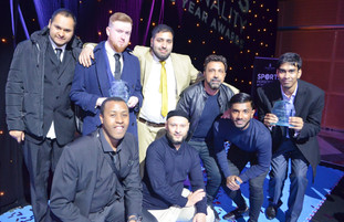 Canary Wharf Sports Personality Awards 2019. Team of the Year