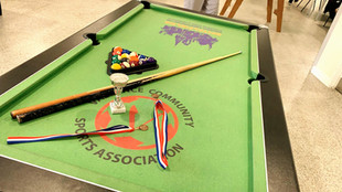 Pool Competition at the Monday Club