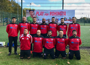 Veteran's team play for charity
