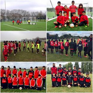 Junior teams league ends