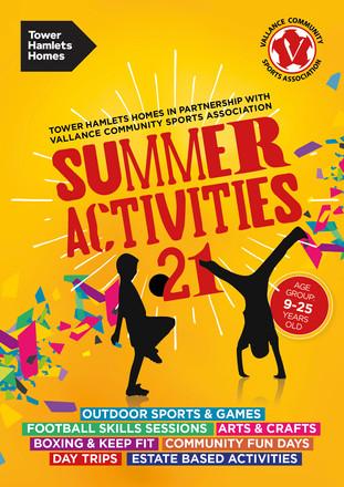 More Summer 2021 activities