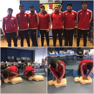 First Aiders at Vallance FC