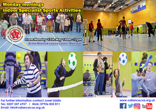 Indoor SEND Sports session returns