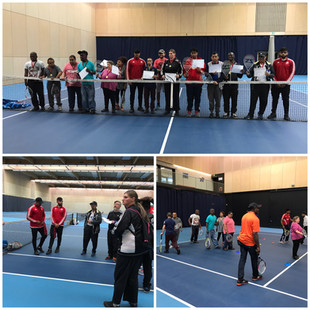 Inclusive tennis ends with competition