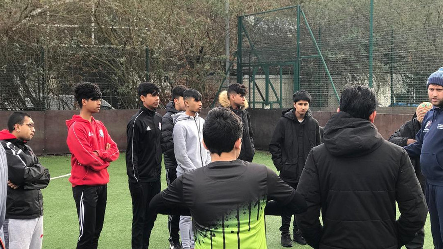 Football Activators training