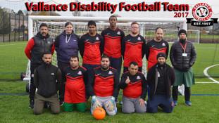 Disability team kicks off