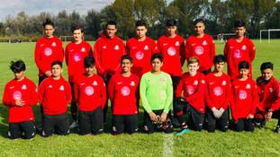 U15 league finishes