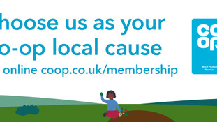 We're part of the Co-op Local Community Fund