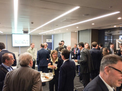 Networking after the last meeting