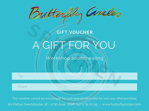 Gift voucher workshop soundhealing