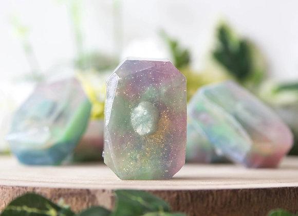 Edelsteen zeep - Flower Child - Amazoniet