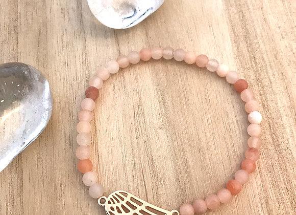 Armband engel jade
