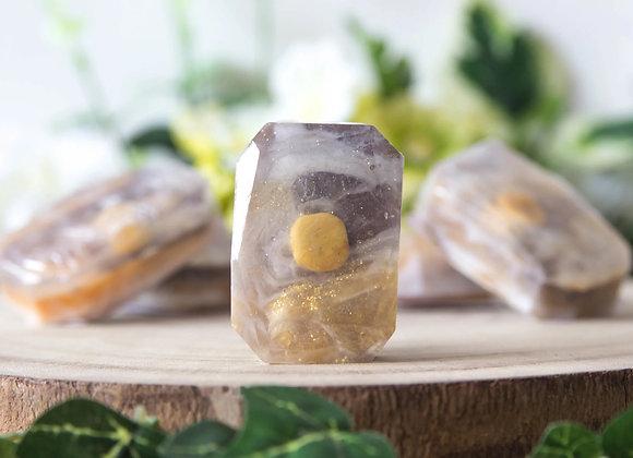 Edelsteenzeep - Warm Sands - Gele Jaspis