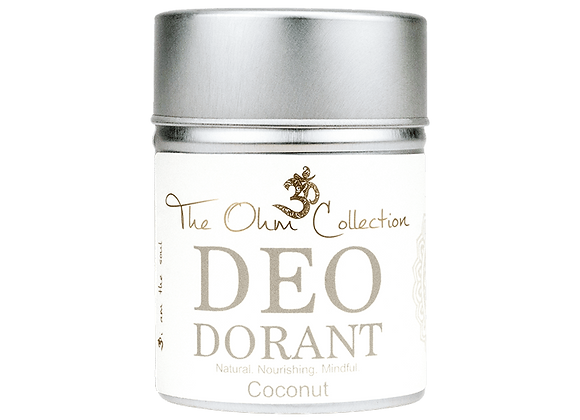 The Ohm Collection - Deo Coconut 120g