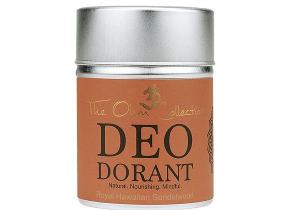 The Ohm Collection - Deo Sandalwood 120g