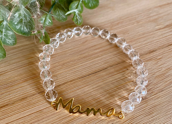 Armband mama bergkristal