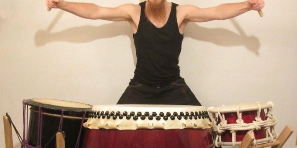 Taiko Drum session
