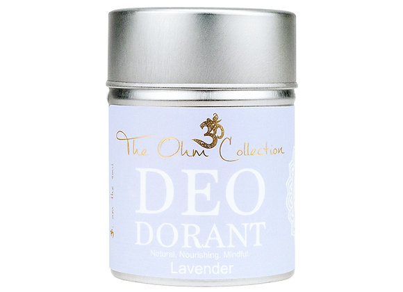 The Ohm Collection - Deo Lavender 120g