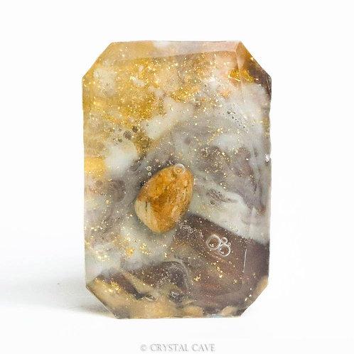 Warms sands - gele jaspis - edelsteenzeep