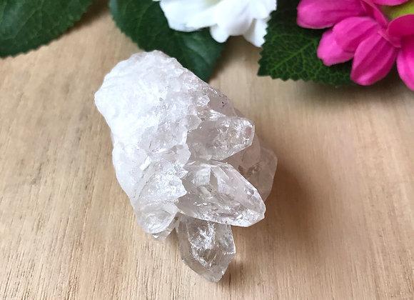 Bergkristal kleine cluster