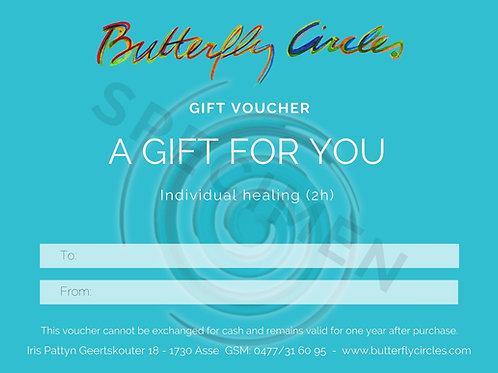 Gift voucher healing