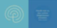 Logo Labyrinth Volonte und Zitat