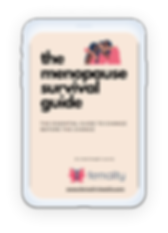 The menopause survival guide